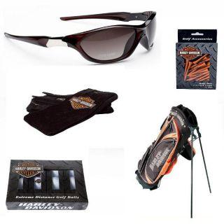 Harley Davidson/ Tour Vision Full Golfers Combo Set