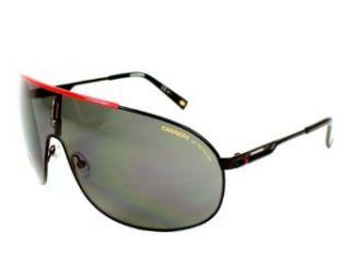 Carrera Mens Carrera 8 Matte Black Frame/Grey Lens Metal