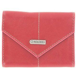 Rolodex Red Personal Business Card Case
