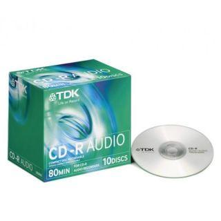 80 / 700 MB   Achat / Vente CD   DVD   BLU RAY VIERGE TDK CD R 80
