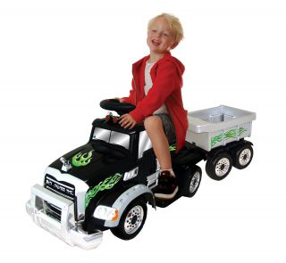 Mack Truck w/ Trailer Battery Operated Ride On