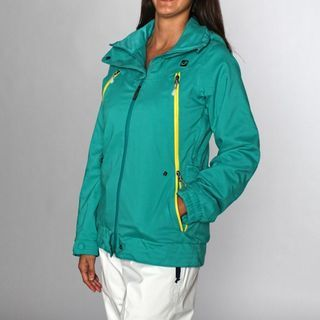 Rip Curl Womens Infinity Turquoise Ski Jacket