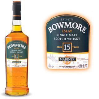 Bowmore Mariner 15 ans 1 litre   Achat / Vente Bowmore 15 ans 1 litre