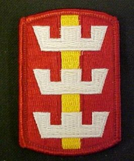 130th Engineer Brigade Full Color Dress Patch Clothing