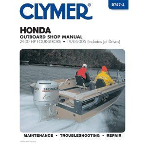 Clymer Honda 2 130 HP Four Stroke Outboards (Includes Jet