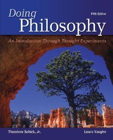 Doing Philosophy An Introduction Through Thought Experiments