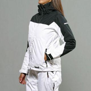 Zenith White/ Black Insulated Ski Jacket Today $146.99