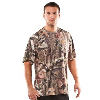 Mens Evolution HeatGear® Shortsleeve Camo T Shirt Tops
