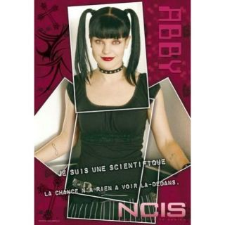 175)   Achat / Vente TABLEAU   POSTER NCIS   Poster ABBY (175