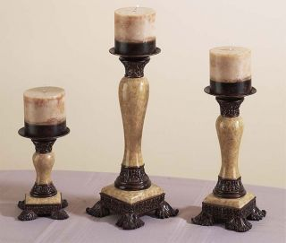 Classic Decorative Candle Holder Set