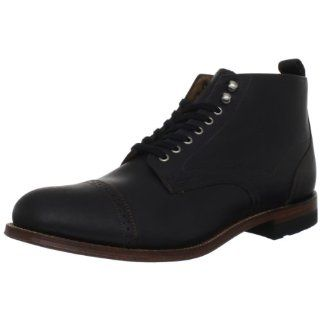 Stacy Adams Mens Madison Cap Toe Boot: Shoes