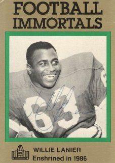 Football Immortals Card #131   Kansas City Chiefs