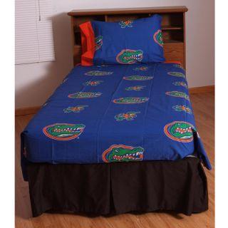 University of Florida Gators Twin size Sheet Set
