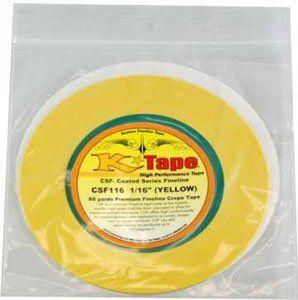 Kustom Shop CSF132 1/32 K tape Micro Fineline Tan 1/32 X 28 Yard