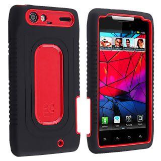 Red/ Black Duo Shield Case for Motorola Droid RAZR XT910/ XT912