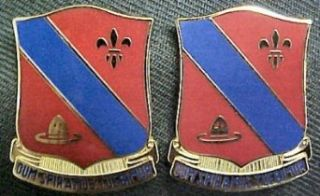133rd Field Artillery Distinctive Unit Insignia   Pair