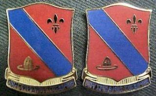 133rd Field Artillery Distinctive Unit Insignia   Pair
