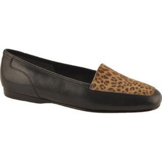 Womens Enzo Angiolini Liberty Black/Natural Leopard