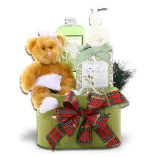 Holiday Spa Gift Basket