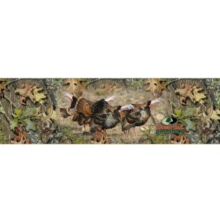 Mossy Oak Wild Turkey Full Size Tailgate Graphic
