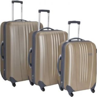 Travelers Choice Luggage Toronto Three Piece Hardside