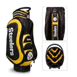 Pittsburgh Steelers NFL Medalist Cart Golf Bag