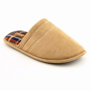 Izod Mens Backless Slippers Beige Slippers Shoes