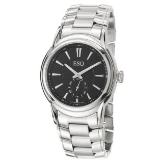 ESQ by Movado Mens Quest Stainless Steel Quartz Watch
