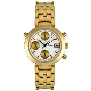 Stauer Womens SLA137L/1926 Automatic Gold Tone Stainless Steel Watch