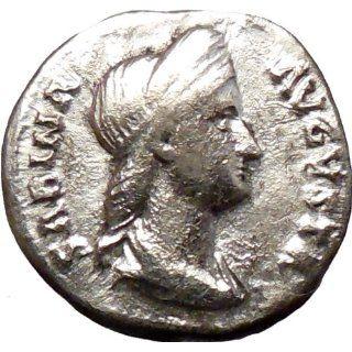 Sabina wife of Bisexual Emperor Hadrian 117AD Rare Silver Ancient Coin