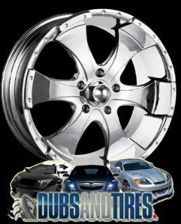 17 Inch 17x8 Ion Alloy wheels STYLE 136 Chrome wheels rims :