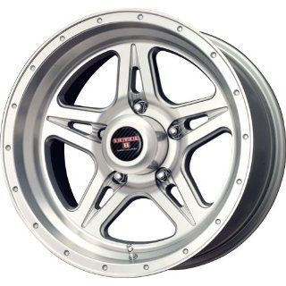 Level 8 Strike 5 Matte Silver Machined Wheel (16x8.5/5x139.7mm