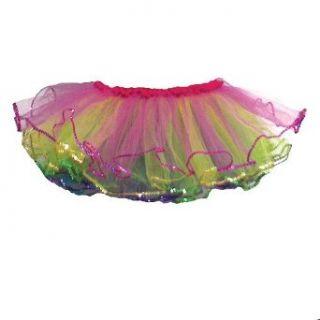 Little Girls Rainbow Ruffle Ballet Dance Tutu 2 6