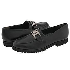 Paul Green Adrian Black Stretch Nappa Loafers