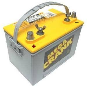 Mega Crank Marine AGM Battery   750 CCA    Automotive