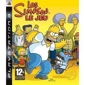 LES SIMPSON Le Jeu / JEU CONSOLE PS3   Achat / Vente PLAYSTATION 3 LES