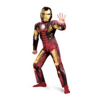 Avengers Iron Man Mark 7 Classic Muscle Costume Clothing
