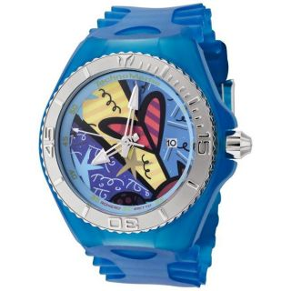 Technomarine Cruise Britto Blue Transparent Silicon Watch