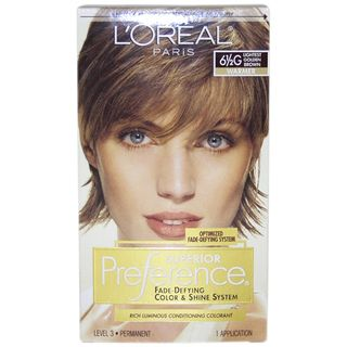 Oreal Superior Preference Fade Defying Color #6.5 G Lightest Golden