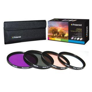 Polaroid Optics 58mm 4 piece Filter Kit