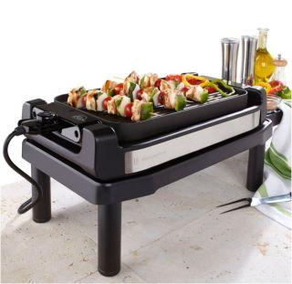 Wolfgang Puck 1800 Watt Indoor/Outdoor Reversible Grill with Tabletop