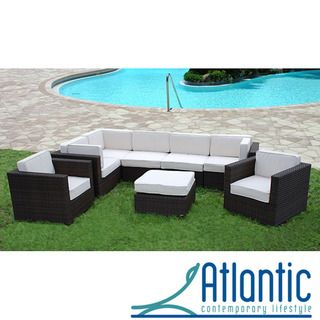 Siena 8 piece Patio Set