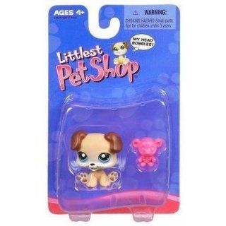 Littlest Pet Shop Puppy with Teddy Bear #143 Toys & Games