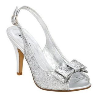 Womens Lava Shoes Flo Silver Glitter