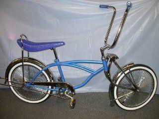 Lowrider Bike Brand New , 140 Spokes New Blue: Sports & Outdoors