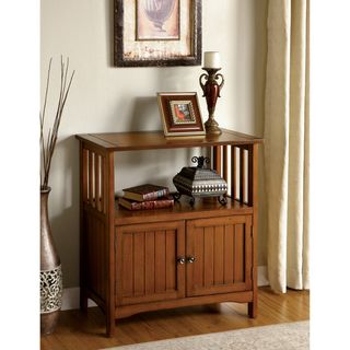 Sebastian Antique Oak Double door Side Cabinet
