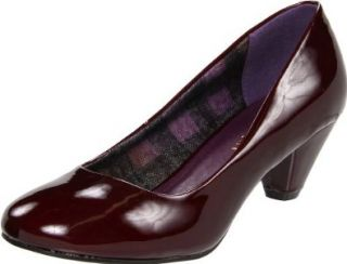 Madden Girl Womens Kravve Pump,Wine Patent,7 M US Shoes