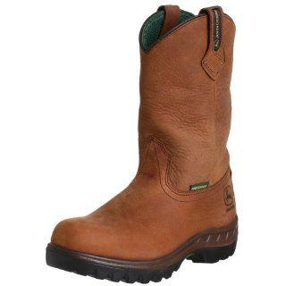 John Deere Mens JD4504 Boot: Shoes