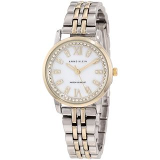 Anne Klein Womens Two tone Stainless Steel Watch