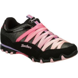 Girls Skechers Bikers Funhouse Black/Pink